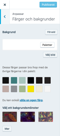 Om du vill lära dig mer om hur anpassade färger fungerar kan du läsa  hjälpsidan för anpassade färger. edfbc2c22d47b